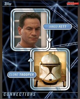 TOPPS Star Wars Card Trader: Connections Jango Fett / Clone Trooper (1 card)