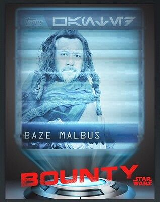 TOPPS Digital Star Wars Card Trader: Rogue One Bounty Hunters: Wanted by the Emp