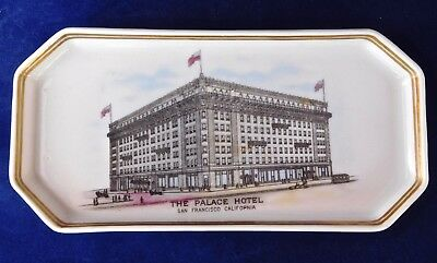 """Bauscher China Pen Tray for 1909 Grand Opening, San Francisco """"New"""" Palace Hotel"""