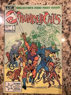 1st appearance THUNDERCATS   #1 AND #2 Star/Marvel Comics  1985- Great Shape!!