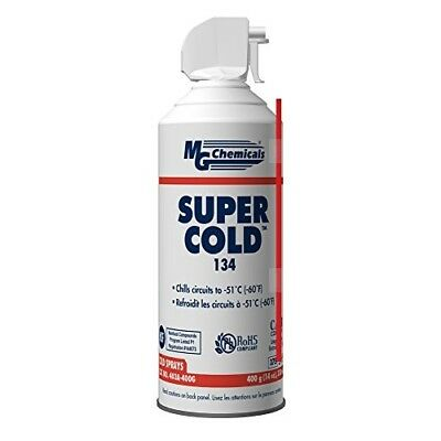 MG Chemicals 403 134A Super Cold Spray 400g (14 Oz) Aerosol Can 14 ounces