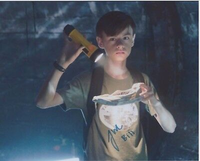 "It: Chapter One (2017) Jaeden Lieberher William ""Bill"" Denbrough SIGNED RP 8x10"