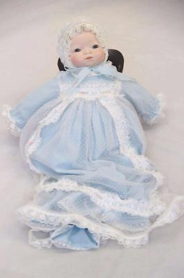 Grace Putnam Bye Lo Doll Sky blue & White Germany #12945