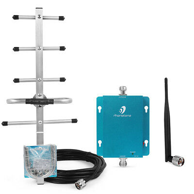 850MHz for AT&T Verizon Cellphone Signal Booster Amplifier Repeater Antenna kit