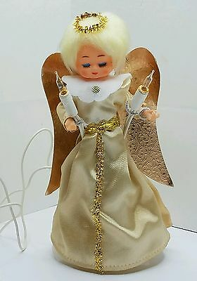 Vintage Angel Tree Topper Loghted Christmas Decor