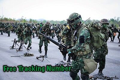Thai Military Tactical Suit Army New Digital Green Uniform  Tropicat Areas