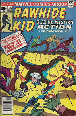 RAWHIDE KID #136  Nov 76  R:RK#20