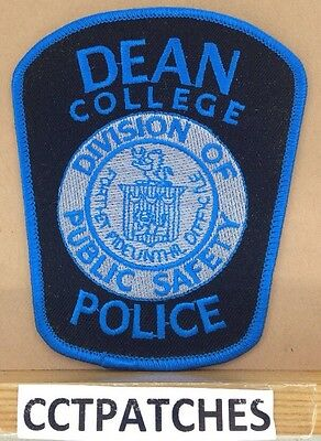 Dean College, Massachusetts Police Shoulder Patch Ma