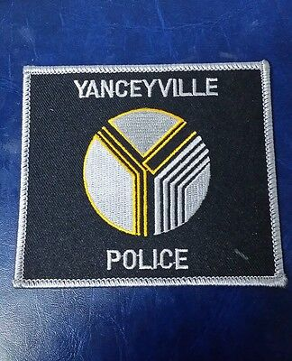 Yanceyville, North Carolina Police Shoulder Patch Nc