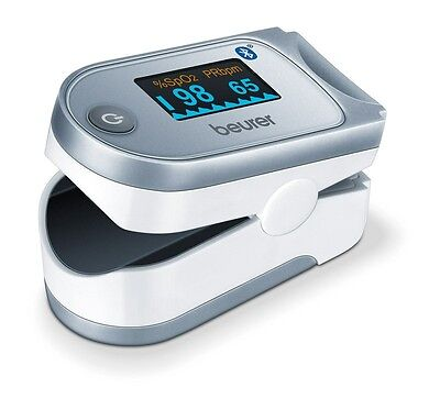 Beurer Po 60 Pulse Oximeter. New! Bluetooth!