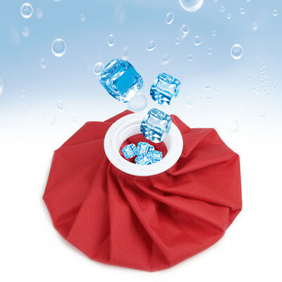 9 Inch Reusable Ice Bag Hot Cold Pack Therapy Sport Injury First Aid Pain Relief