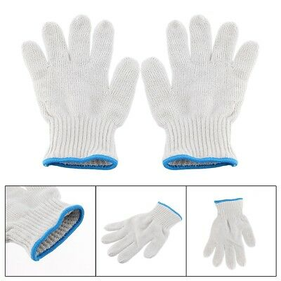 1Pair Hot Kitchen Oven Gloves Heat Resistant Holder Baking BBQ Cook Protection
