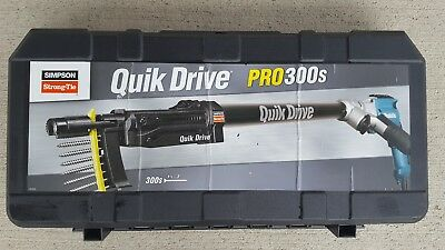 Simpson Strong Tie Quik Drive PRO300s Auto Feed Collated Screw Gun Kit