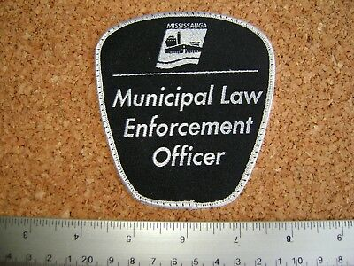 MISSISSAUGA MUNICIPAL LAW ENFORCEMENT OFFICER PATCH,police,security,Ontario