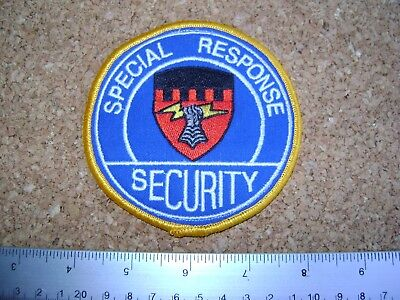 SPECIAL RESPONSE SECURITY PATCH Enforcement,police,guard,officer
