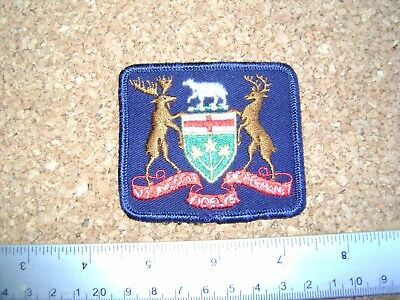 RARE ONTARIO POLICE PATCH  opp,rcmp,security guard ,enforcement officer,Canada