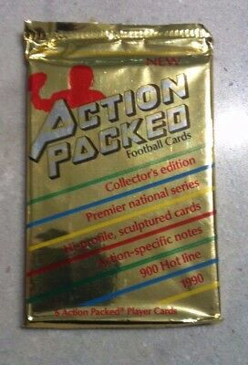 NFL Action Packed Card Pack