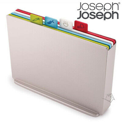 NEW Joseph Joseph Index LARGE Silver Chopping Boards Multicolour Hygienic System
