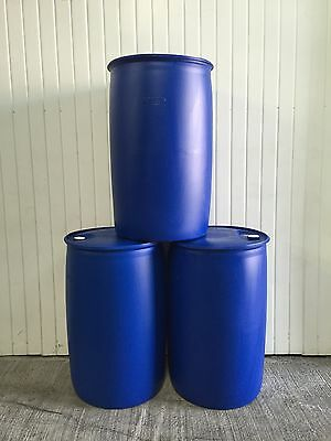 Reconditioned 210 Litre Plastic Drums/Storage Containers