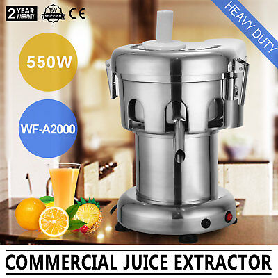 Commercial Fruit Vege Juicer Heav Duty For Store Use 2800RPM 100~120Kg/Hour