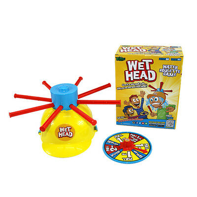Wet Head Challenge Game Water Toy Family Kids Wet Roulette Party Prank Game New