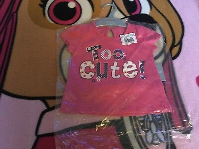 Baby Girls Pink T- Shirt - Age 6-9 Months - Brand New
