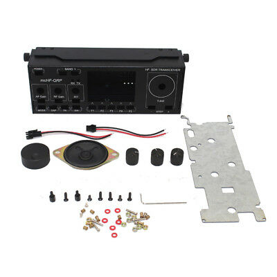 NEW Aluminum Shell Cover Case Button DIY Kits for mcHF SDR Radio UI RF 0.4 0.5