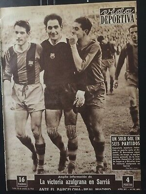 1958 Friendly match.Spain 6-Northern Ireland 2. spanish newspaper