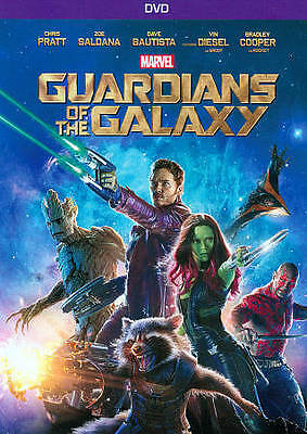Guardians of the Galaxy (DVD, 2014) Brand New Free Shipping!