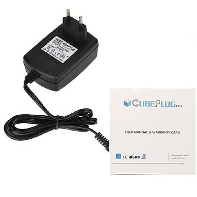 5V 2A AC Charger for APPTAB NINE.7 Dual Core 9.7'' Touch Screen Tablet EU