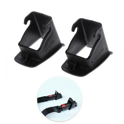 Car Baby Seat 1 Pair ISOFIX Latch Belt Connector Plastic Guide New Groove