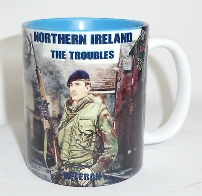 The Queen's Regiment Mug Northern Ireland The Troubles