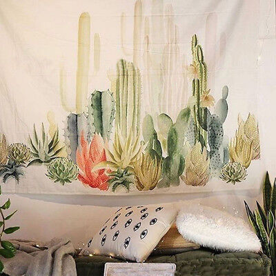 Desert Landscape Cactus Tapestry Wall Hanging Living Room Bedroom Decor Reliable