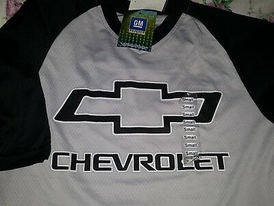 ** CHEVY mens T-shirt Genuine GM size Small - Brand new **