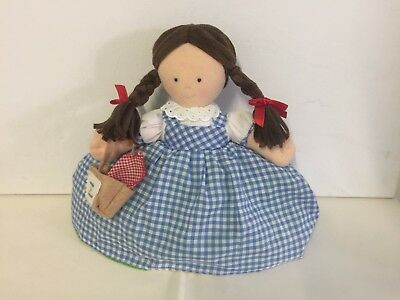 Dorothy/Toto Topsy Turvy doll. Wizard of Oz. North American Bear Co. Plush toy.