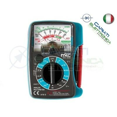 Multimetro Tester Analogico Tascabile Mkc-666B