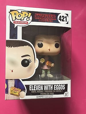 Funko Pop Stranger Things Eleven With Eggos 421 Sdcc Comic Con