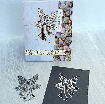 """CLEARANCE"" Shopaperartz CHRISTMAS ANGEL CUTTING DIE FITS SIZZIX CUTTLEBUG - NEW"