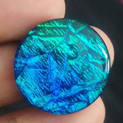 "Wow Excellent Ravishing ""australian Triplet Opal"" Treated Gemstone 29 Cts /uk"