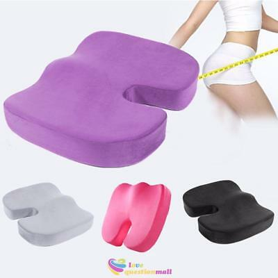 Breathable Coccyx Orthopedic Memory Foam Seat Cushion for Chair Car Office Home