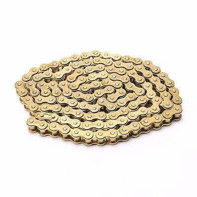 530*120 Motorcycle Chain 530 Pitch 120 Link - Gold - High Quality