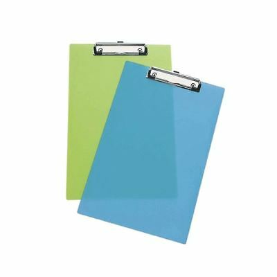 Rapesco Frosted Transparent Clipboard Assorted (Pack of 10) [HT15199]