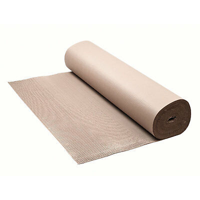 Wellpappe Rollenwellpappe Rolle 200 g/m2 Polstermaterial 100 cm x 15 m