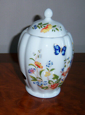 "Aynsley ""cottage Garden""  Deco Caddy Jar"""