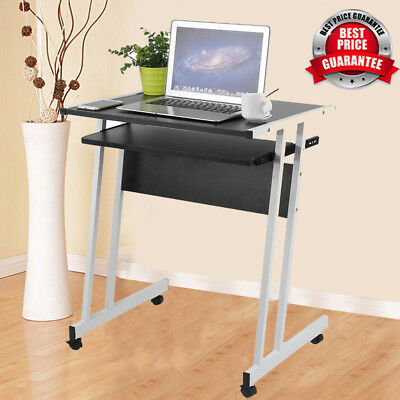 Free Installation Foldable Computer Desk Folding Laptop PC Table Home Office