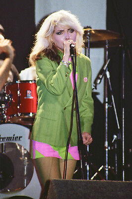 "Blondie - Debbie Harry 10""*8"" colour concert photo Newcastle 1978"