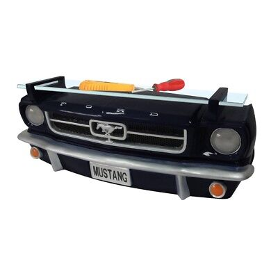 FORD 64 MUSTANG Wandregal mit LICHT Bumper Stoßstange Ablage Automöbel Shelby sw