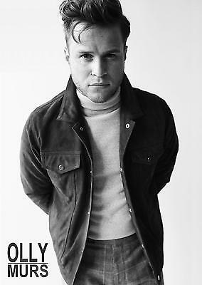 Unofficial OLLY MURS (1) *Glossy A4* print Poster - Mix Taylor Sheeran Bieber