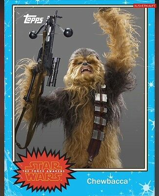 TOPPS Star Wars Card Trader: Topps Classic Series 1 Blue Chewbacca (1 card)