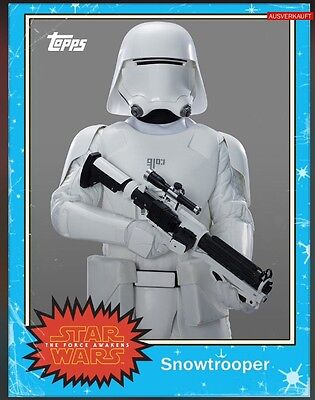 TOPPS Star Wars Card Trader: Topps Classic Series 1 Blue Snowtrooper (1 card)